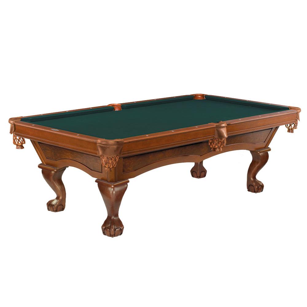 Brunswick Danbury Pool Table Chestnut 8 Ft Great